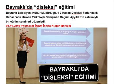 Bayraklı Belediyesi - Disleksi Farkındalık Haftası Eğitim Semineri